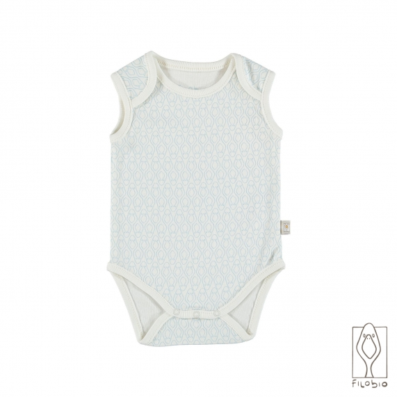 Body sleeveless with all over texture