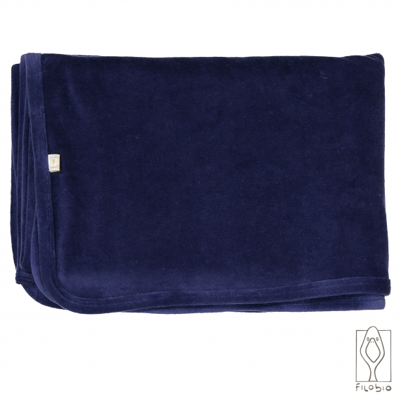 Velour baby blanket 100% organic cotton