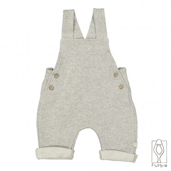 Sleeveless baby rompers in organic cotton fleece