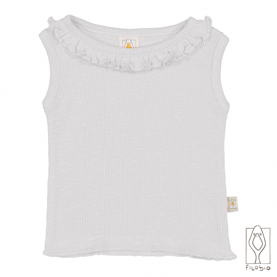 Baby boy tank top in organic cotton