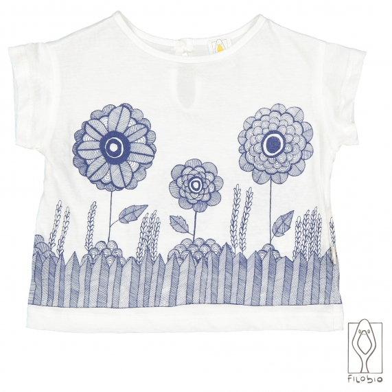 T-shirt with poket in organic cotton