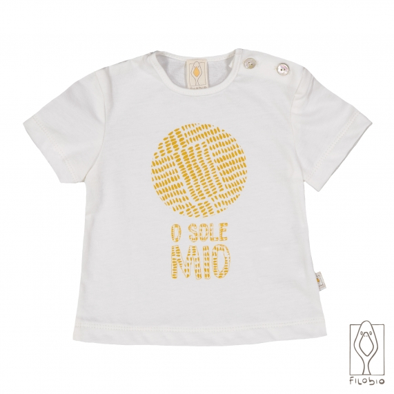 Baby T-shirt in organic cotton