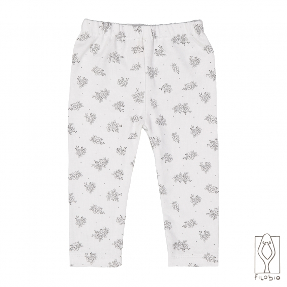 Baby leggings in pure cotton