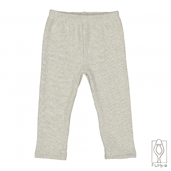 Baby Leggings In Knitted Fabric