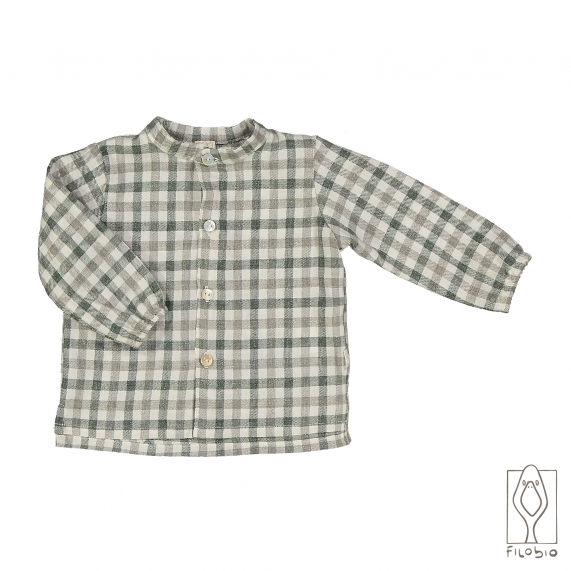 Baby shirt cotton flannel