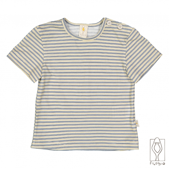 T-shirt with print in organic cotton