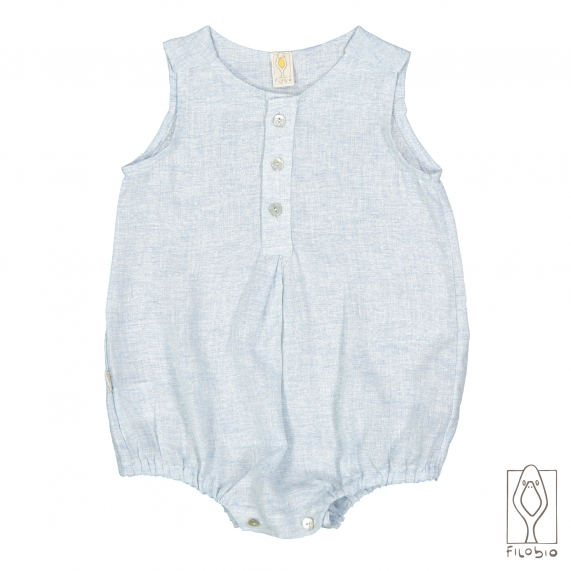 Baby boy sleeveless romper Gino