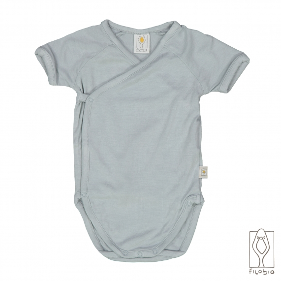baby bodysuit in bamboo