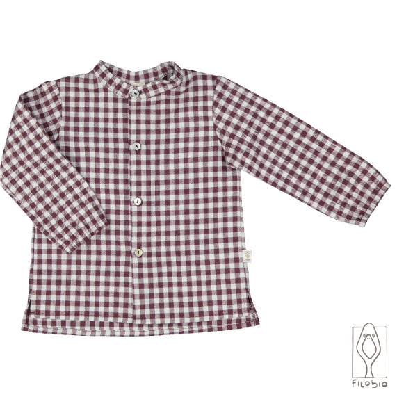 Baby shirt 100% cotton flannel
