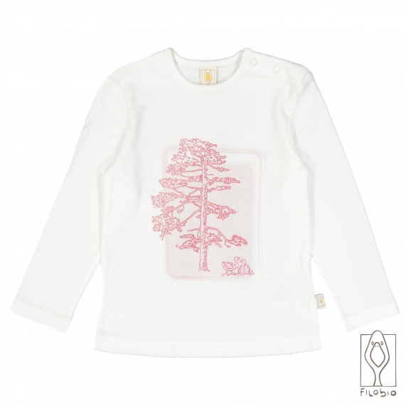 T-shirt for baby, in organic cotton