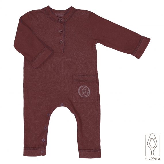 Baby onesie with pocket