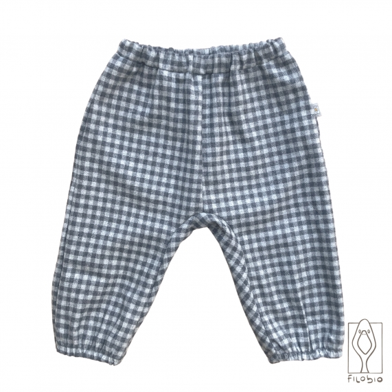 Baby trousers in pure cotton
