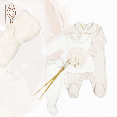 Fall Winter baby Playsuits, pajamas, complete two pieces